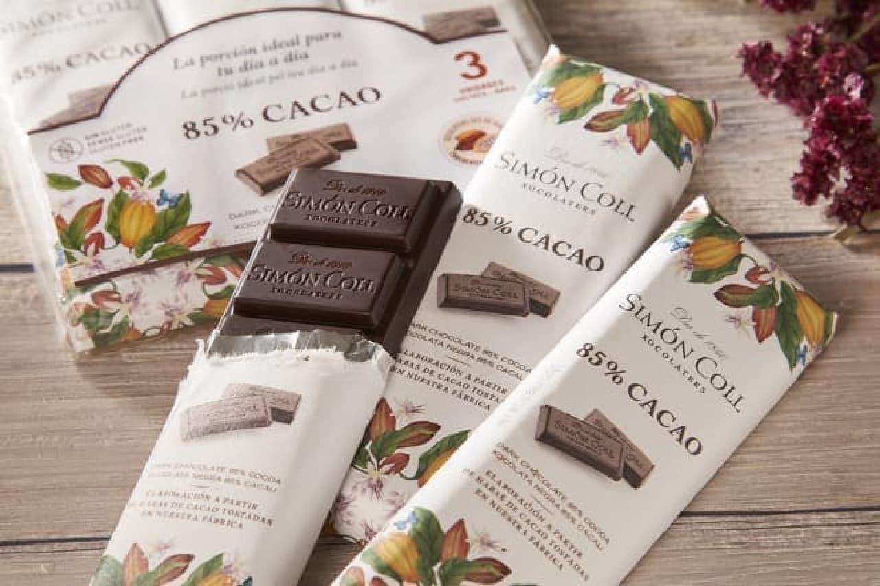 シモンコールのチョコレート