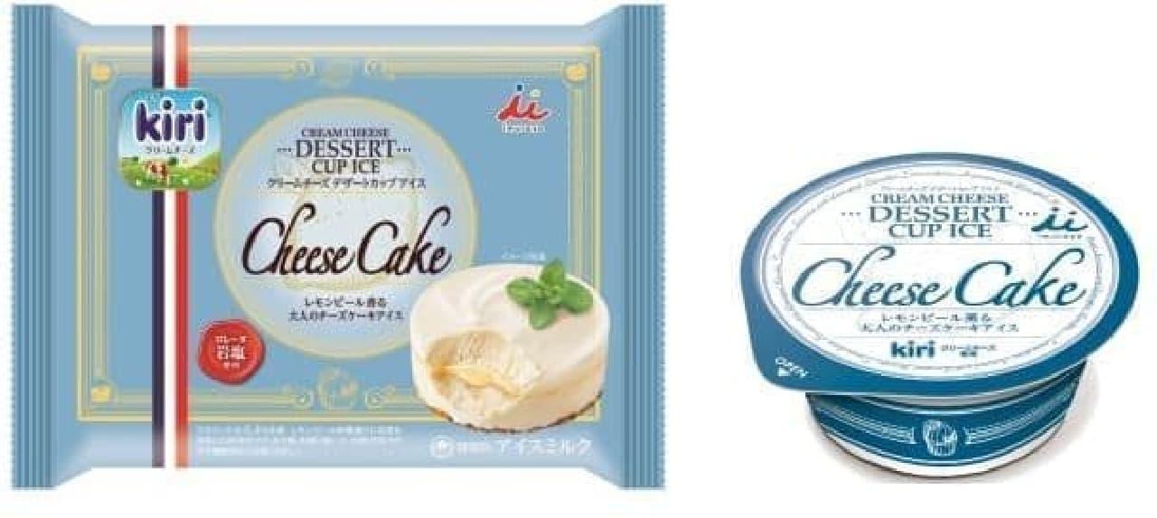井村屋「クリームチーズデザートカップアイスチーズケーキ」