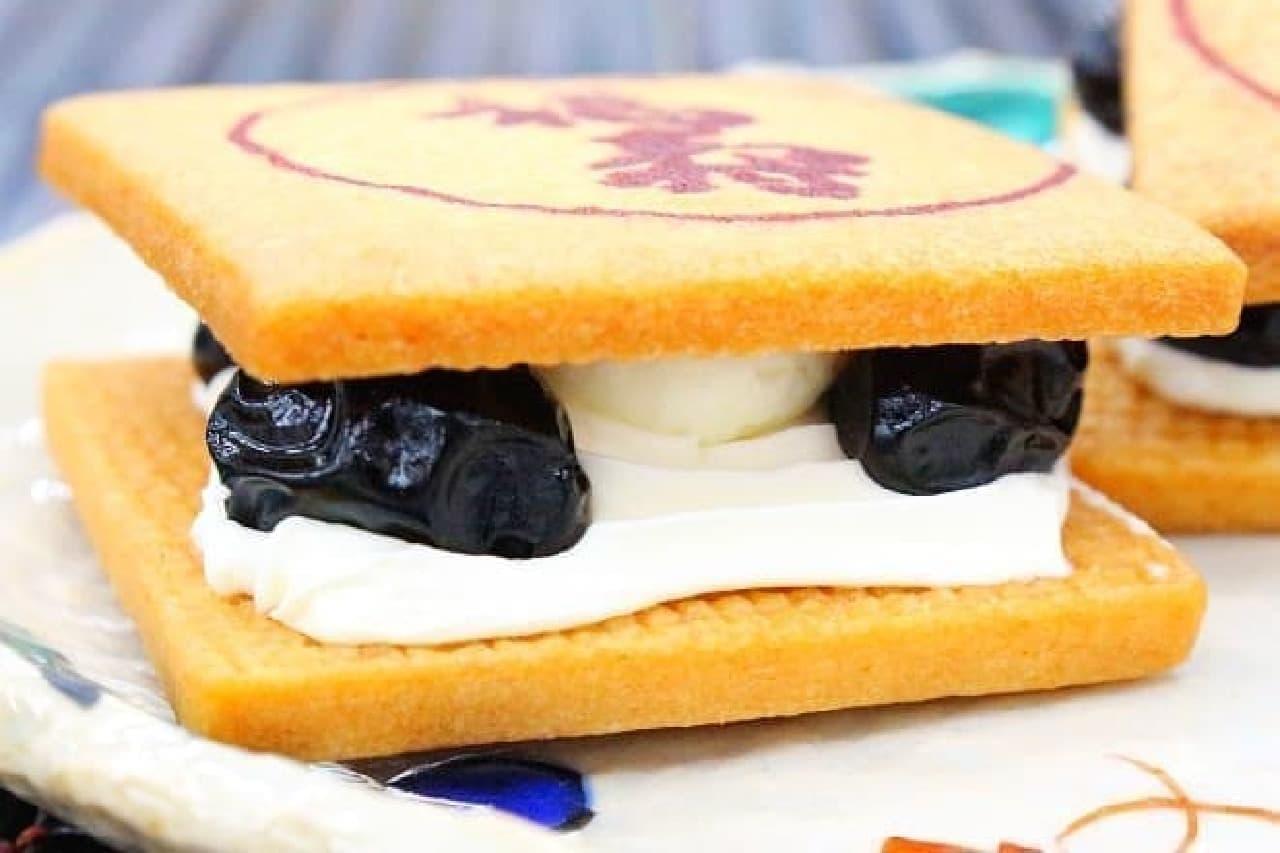 神戸の「福寿バタークリームサンド」