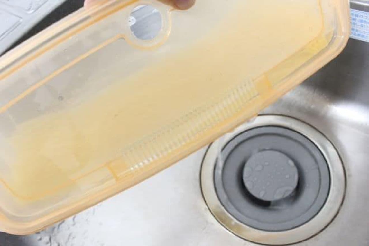 ニトリ「レンジ調理容器 パスタ用」