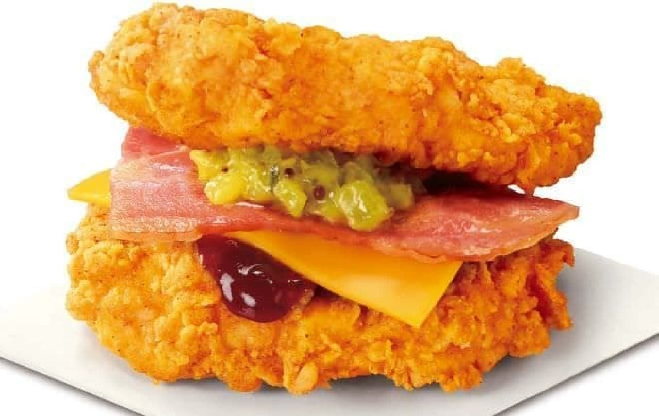 KFC「THE DOUBLE(ザ・ダブル)」