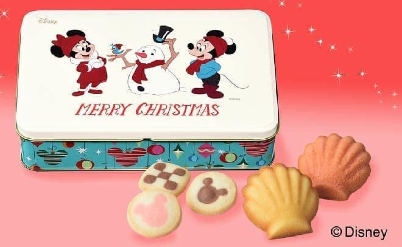 銀座コージーコーナー「<ディズニー>クリスマス缶」