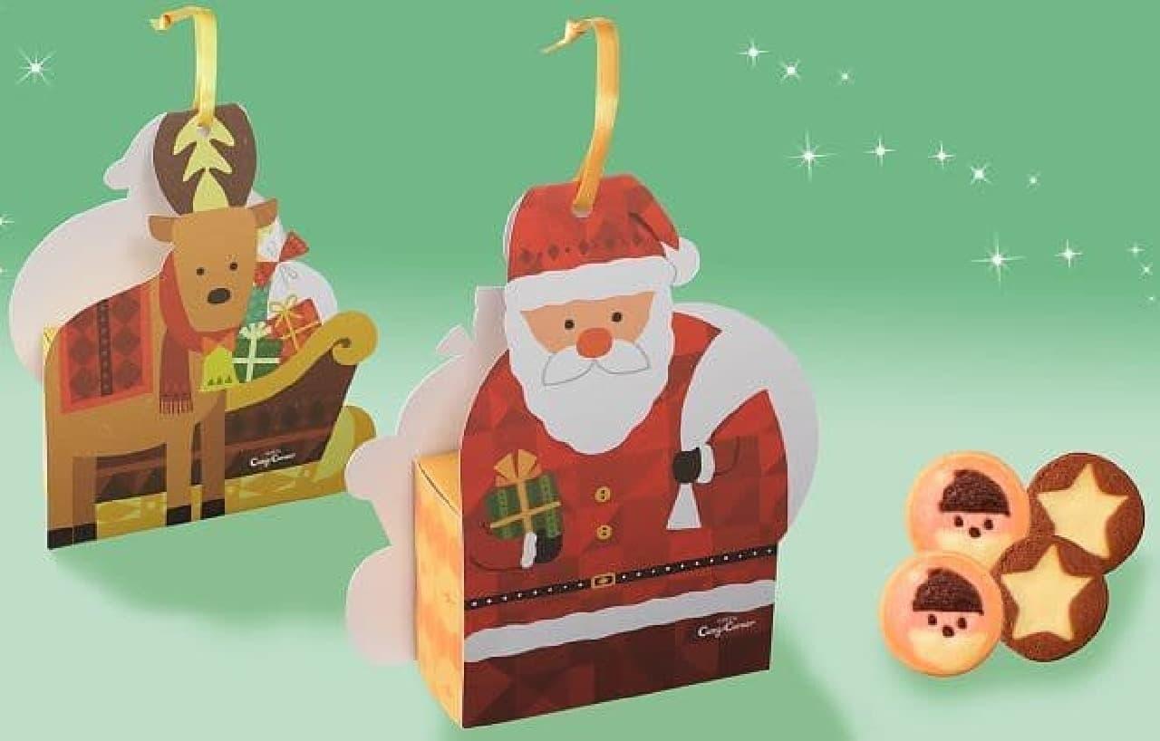 銀座コージーコーナー「クリスマス サンタ&トナカイ」