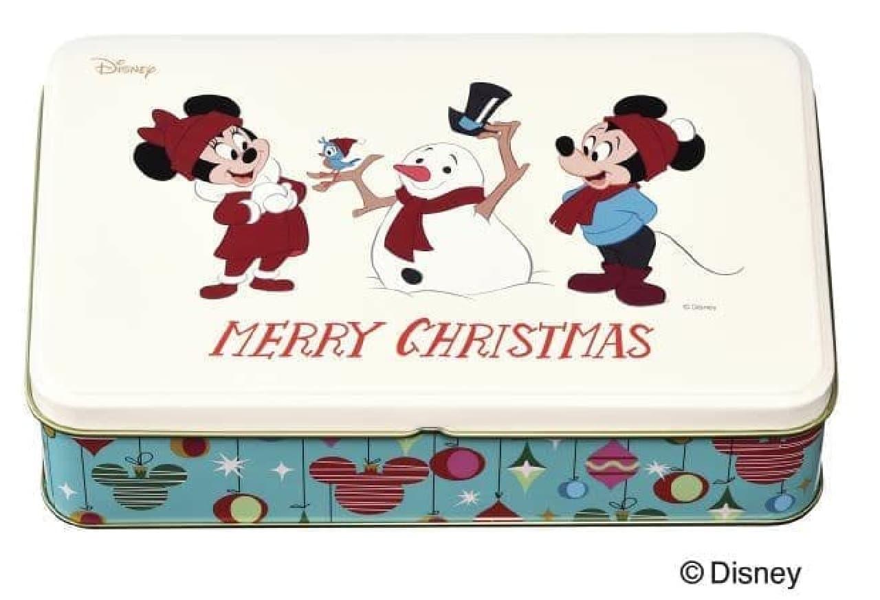 銀座コージーコーナー<ディズニー>クリスマス缶