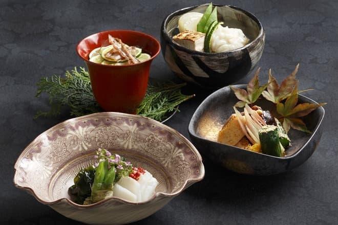 日本料理「旬彩」の「美食会席 ~徳島~」
