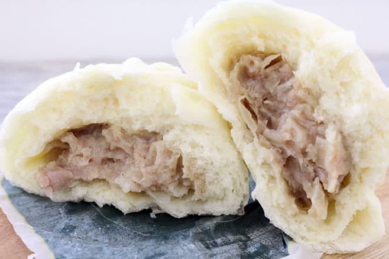 コンビニの肉まん食べ比べ