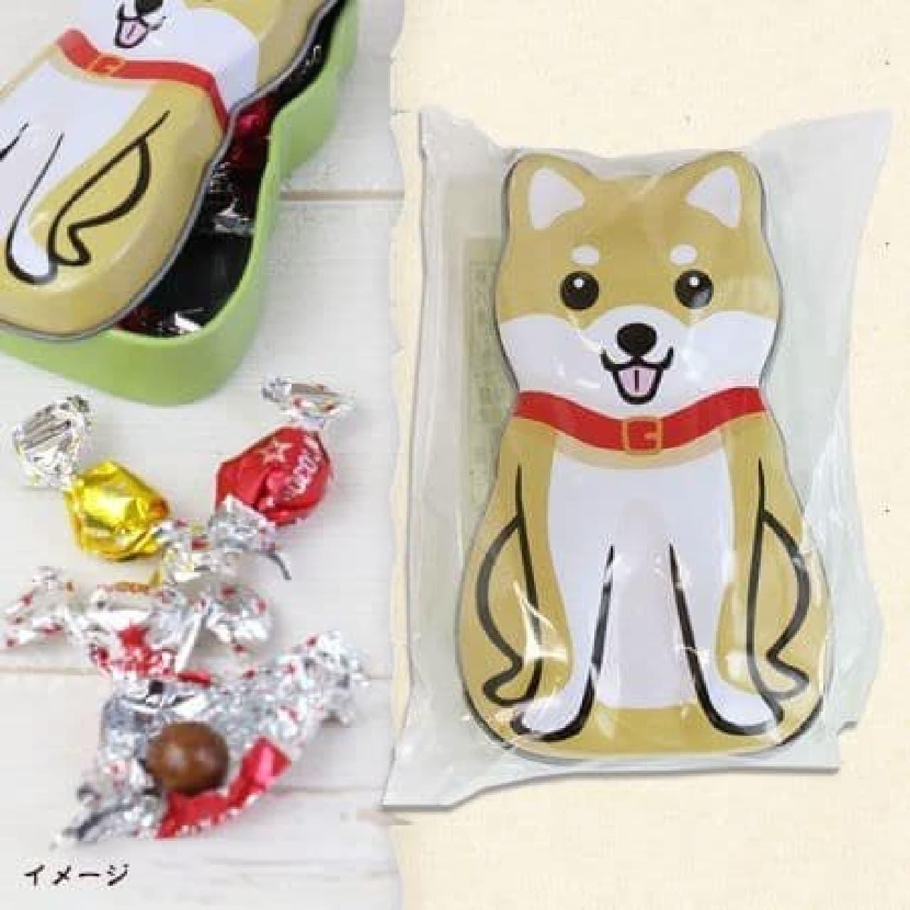 カルディに犬モチーフのお菓子