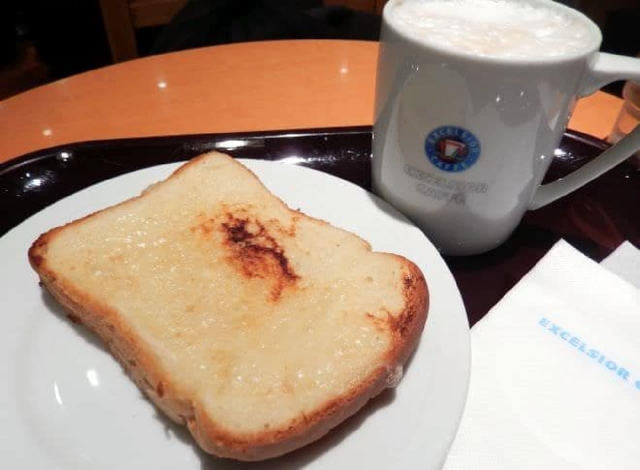 エクセルシオールカフェ「クロックムッシュ」