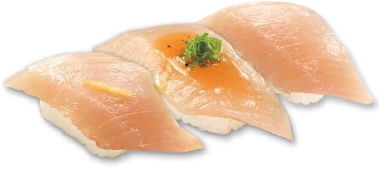 くら寿司「赤えびと三種盛りフェア」