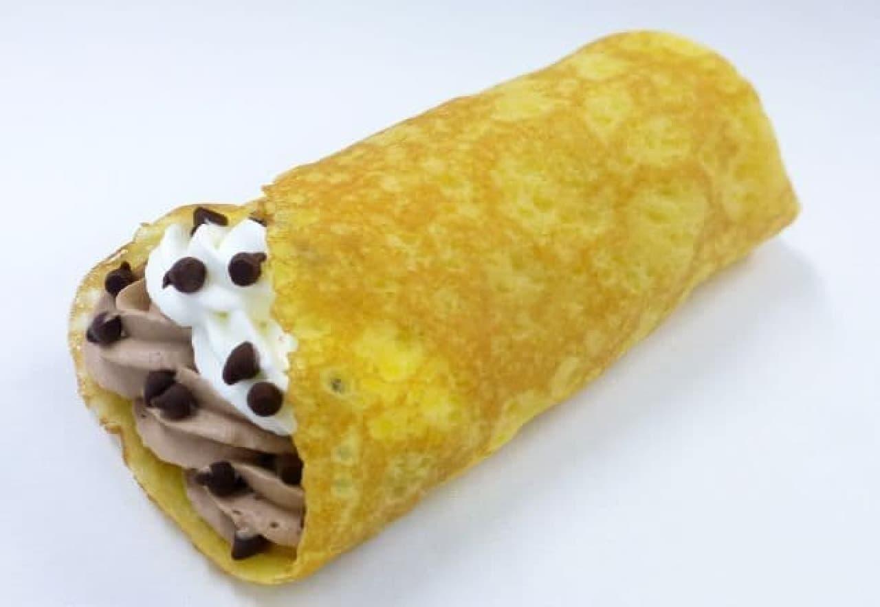 ファミリーマート「~もちもち食感~ ファミクレープ チョコ&バナナ」