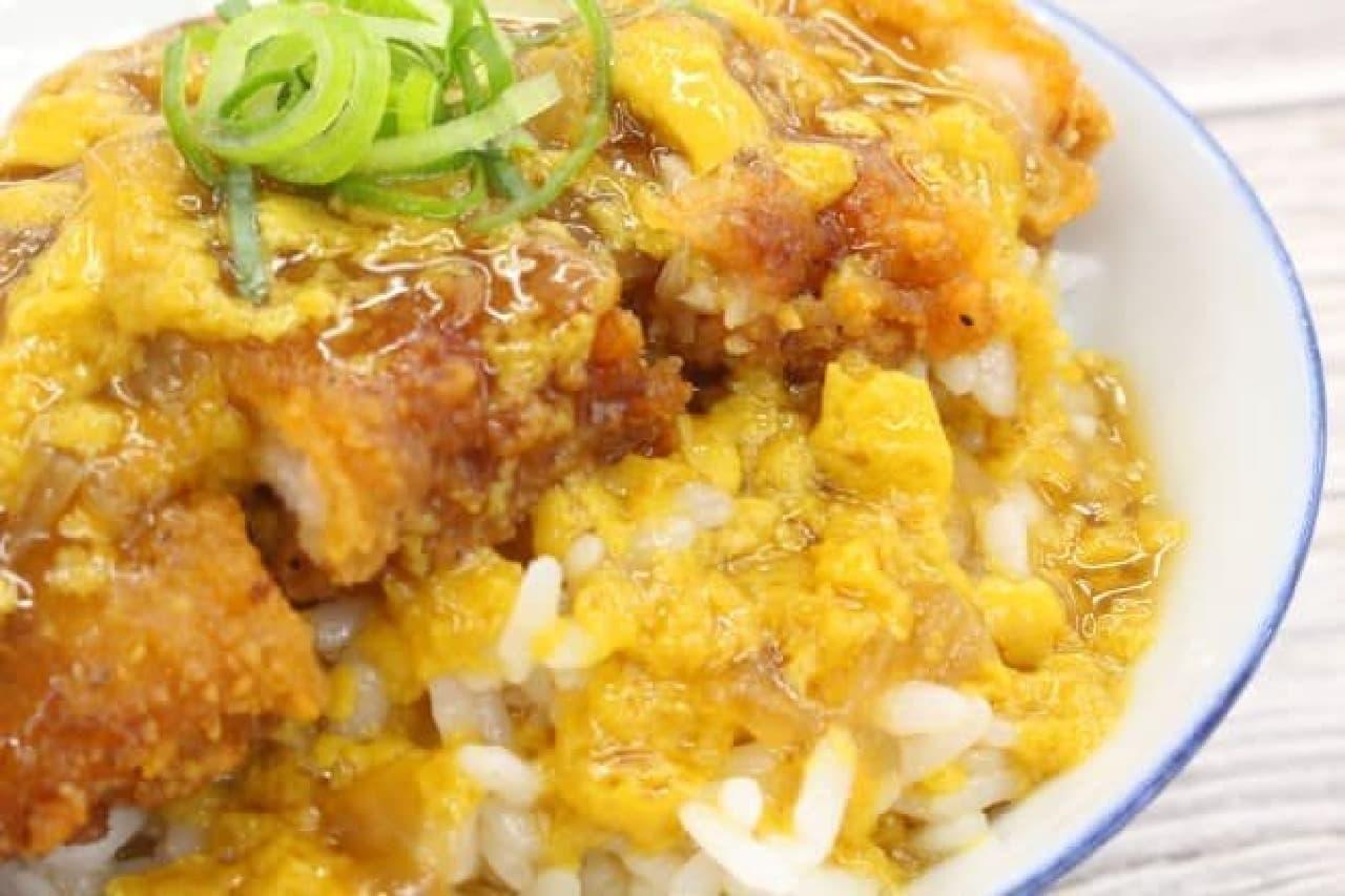 ファミマ「コンビニチキンでつくるチキンカツ丼」