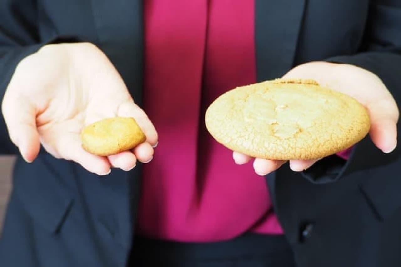 桔梗信玄餅BIGカントリーマアム