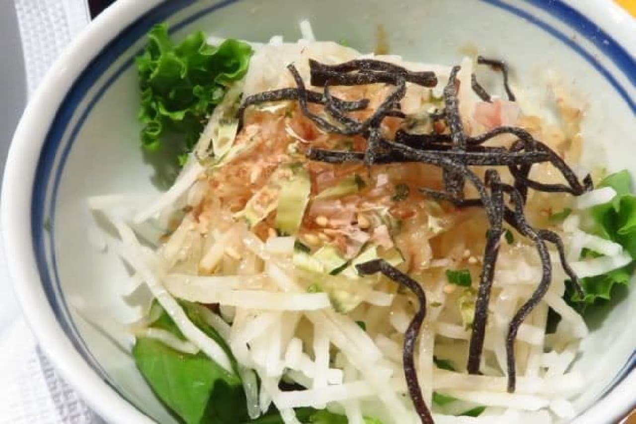 洋麺屋五右衛門「海老とアボカドのジェノベーゼ」