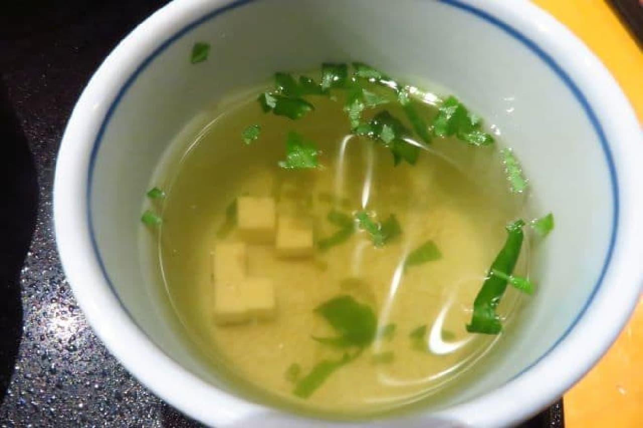 洋麺屋五右衛門のスープ