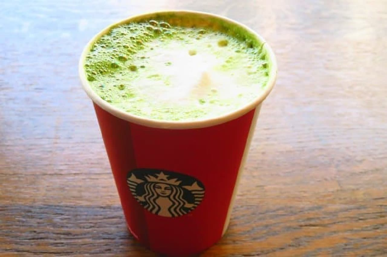 スターバックスコーヒー「抹茶 ティー ラテ」