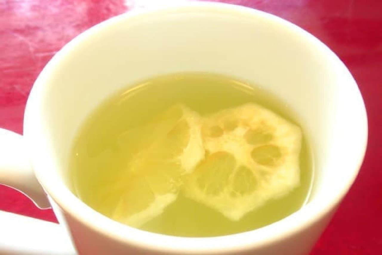 カフェ・ベローチェの「はちみつレモン」