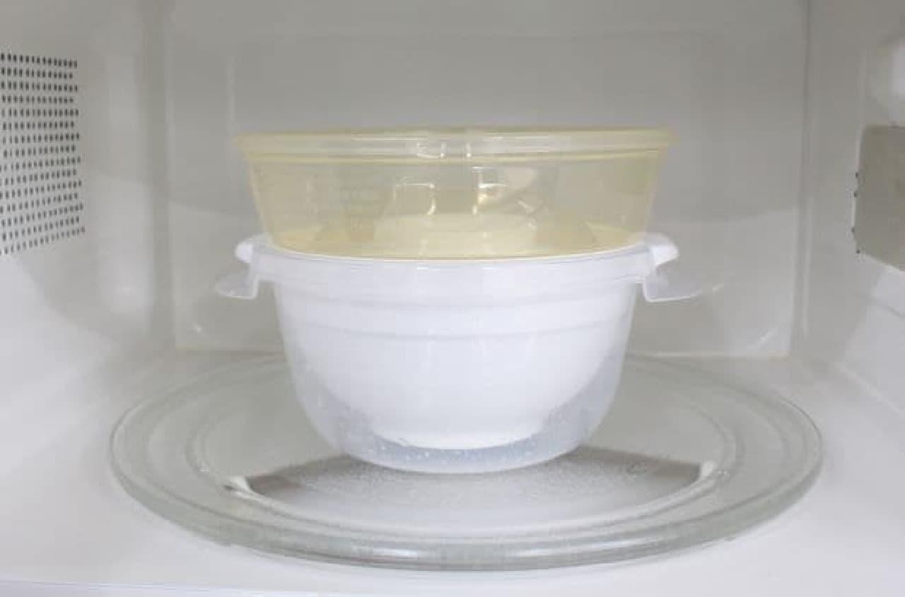 ニトリ「レンジでごはん一膳炊き」とダイソー「ご飯一合炊き」を比べてみた