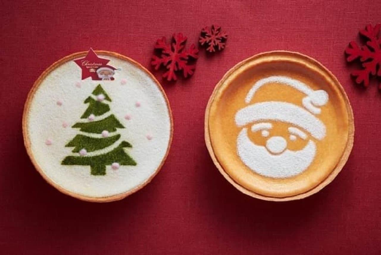 モロゾフ「クリスマス マスカルポーネチーズケーキ」と「クリスマス デンマーククリームチーズケーキ」