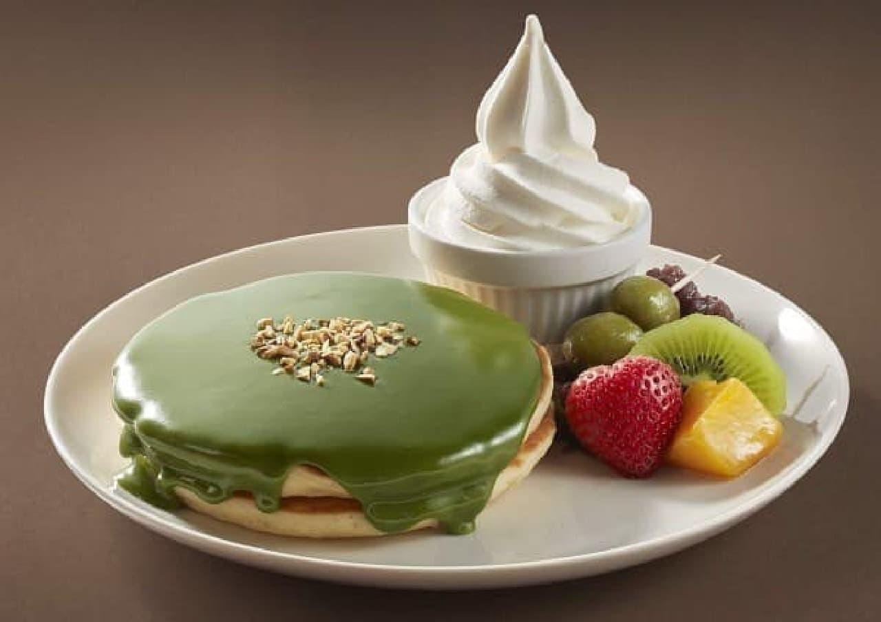 ジョナサン「香る 濃厚抹茶のパンケーキ」
