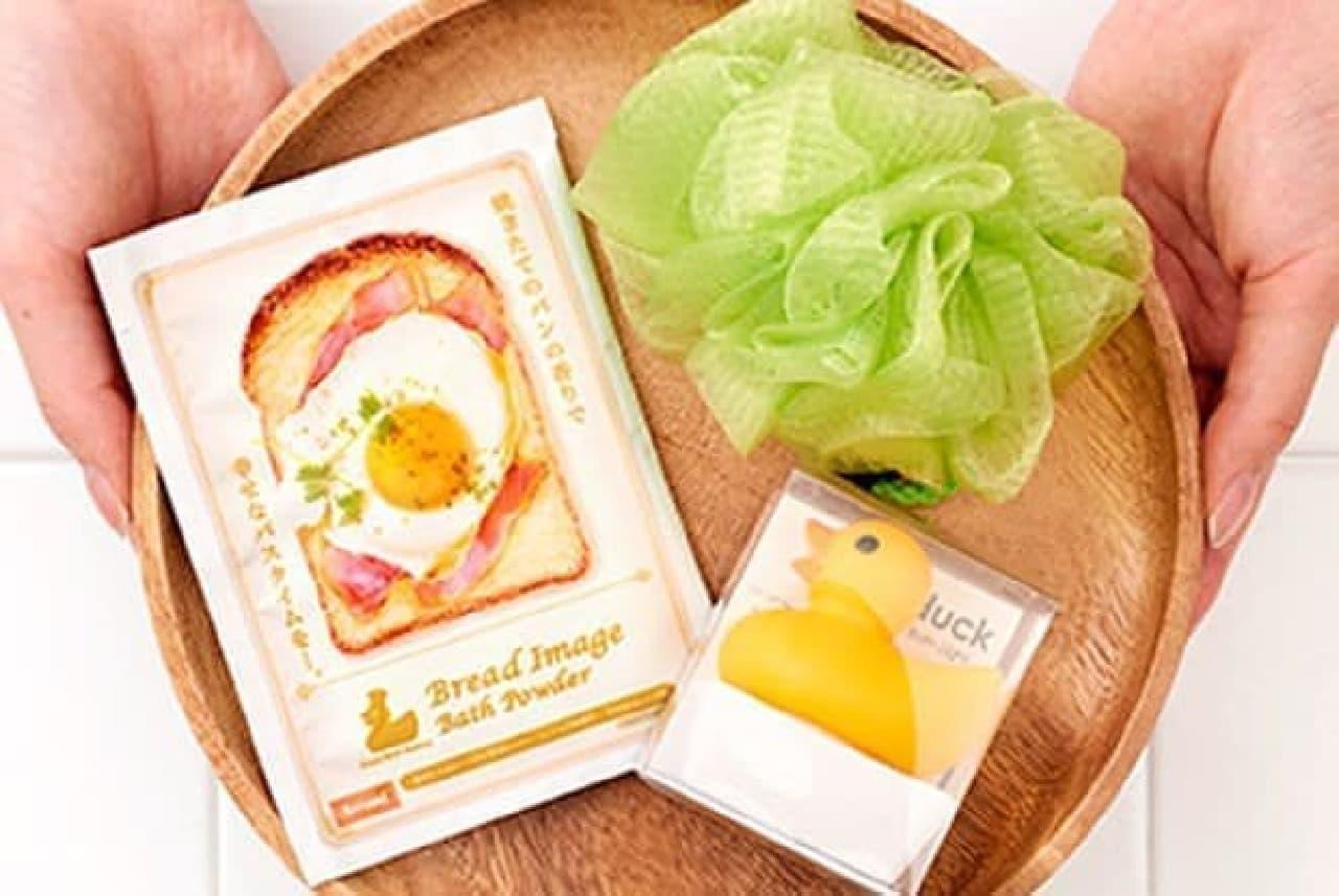 パンの香りの入浴剤「Bread Image Bath Powder」