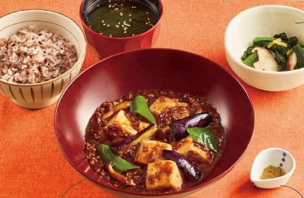 大戸屋「コクうま麻婆豆腐定食」