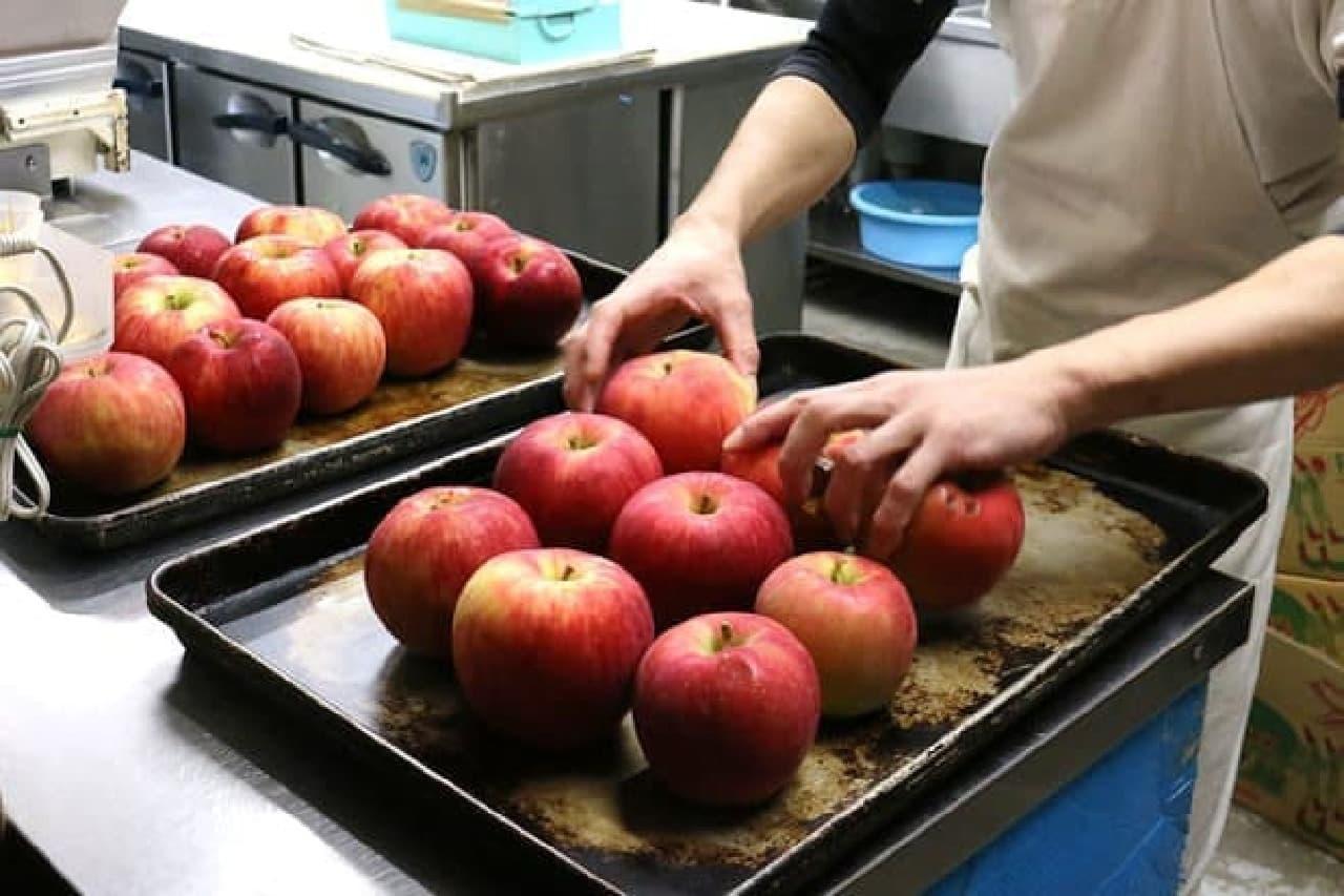 焼りんごのイメージ
