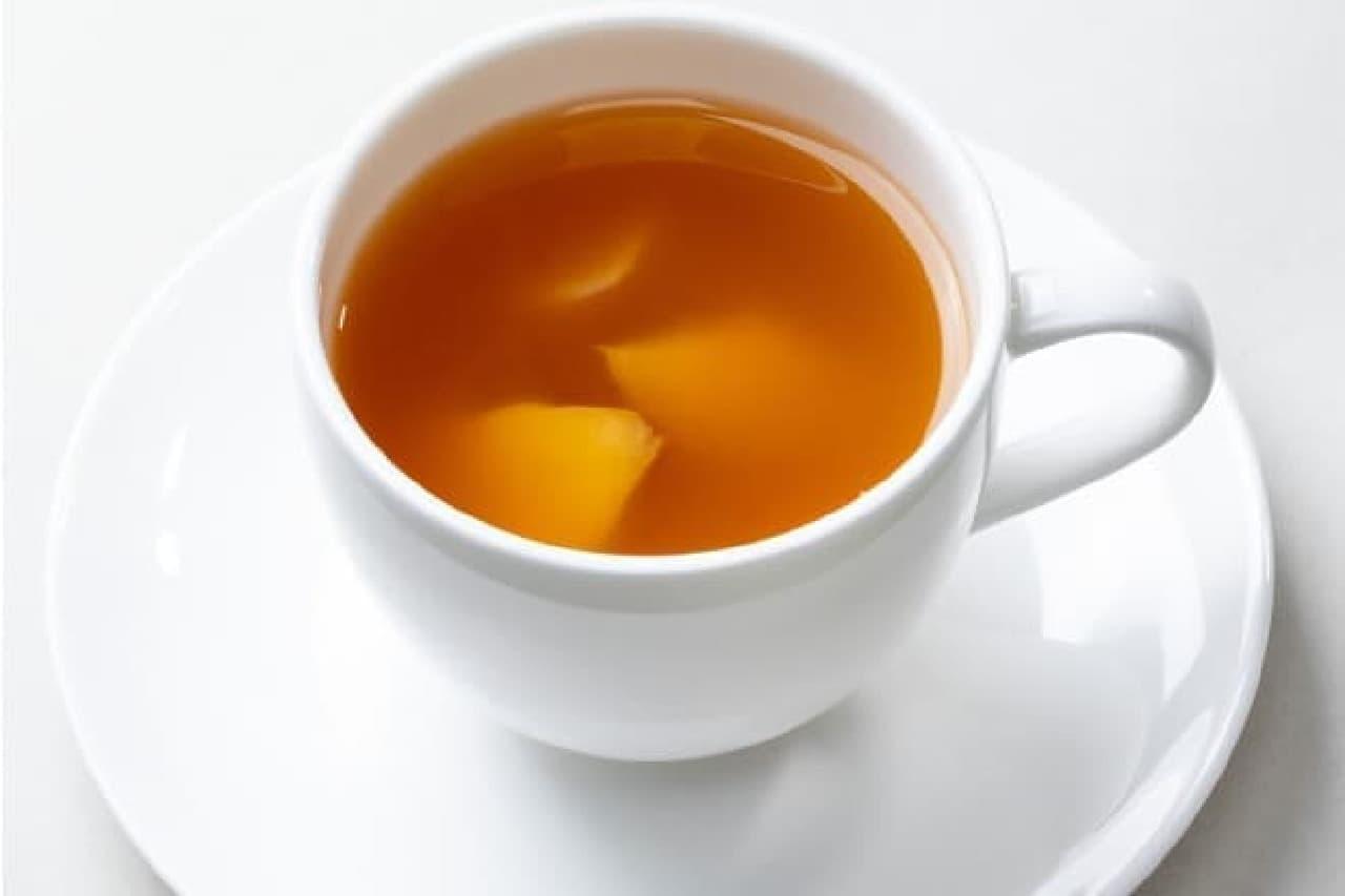 上島珈琲店の「蜂蜜かりんのしょうが湯」