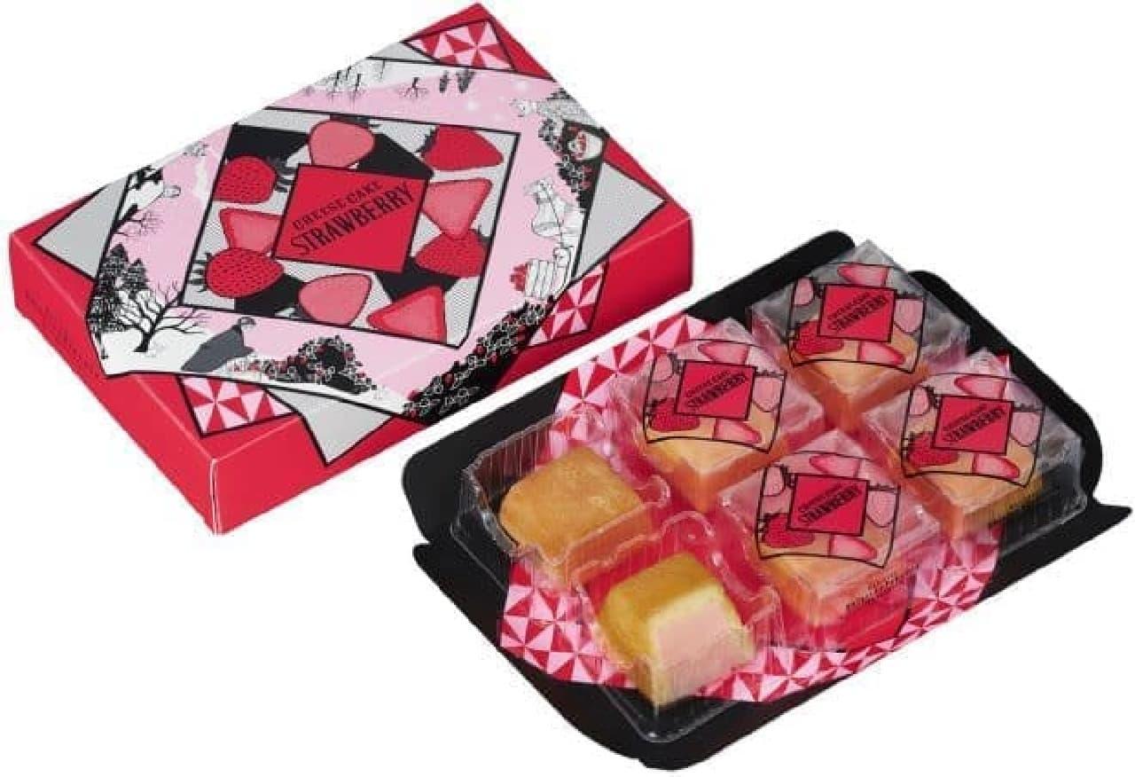 資生堂パーラー「冬のチーズケーキ(いちご)」