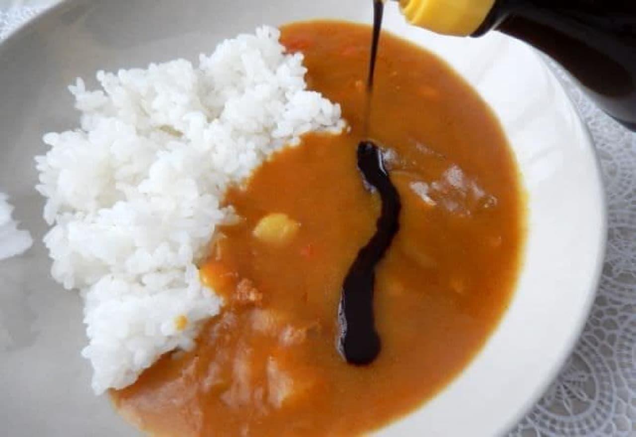 光食品「甘口カレーが熟辛なカレーになっちゃうソース」