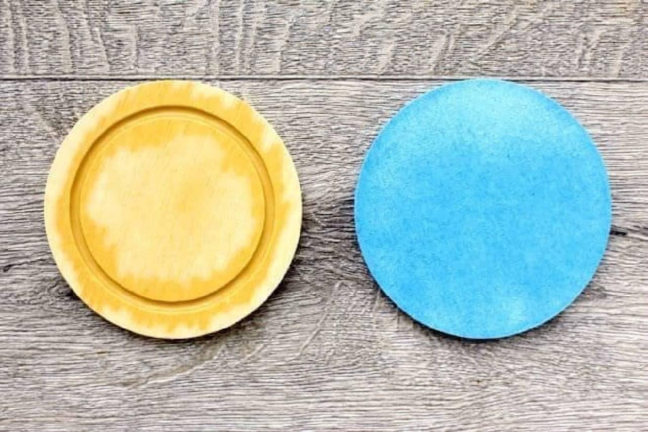 ニトリとキャンドゥの「珪藻土コースター」を比較