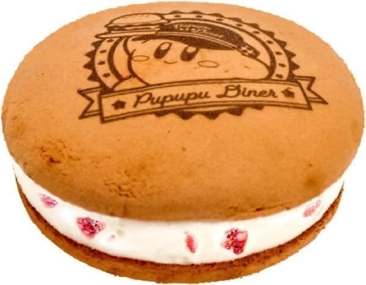 コールド・ストーン・クリーマリー「星のカービィ PUPUPU Dinerのストロベリーアイスサンド」