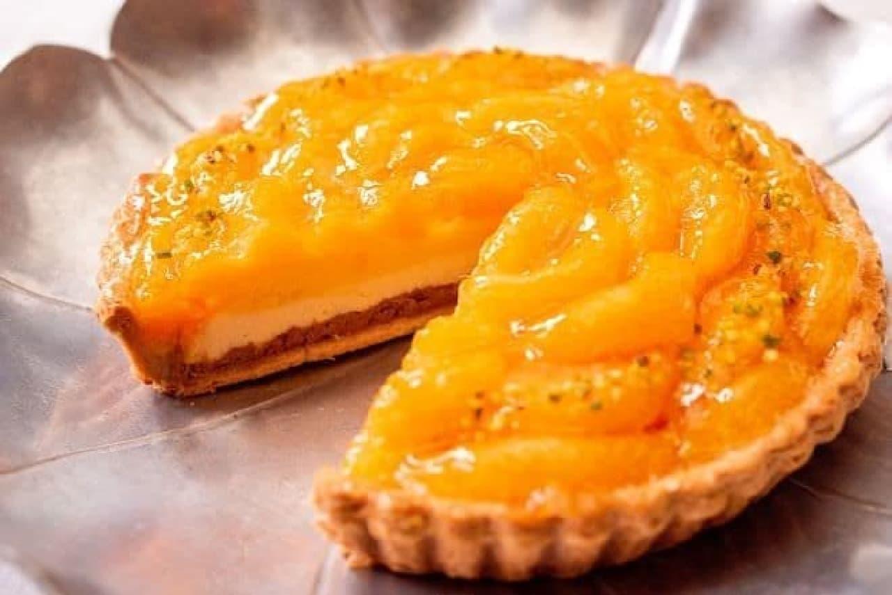 キル フェ ボンにウェブストア限定の冷凍ケーキ「オレンジとチョコレートのタルト」
