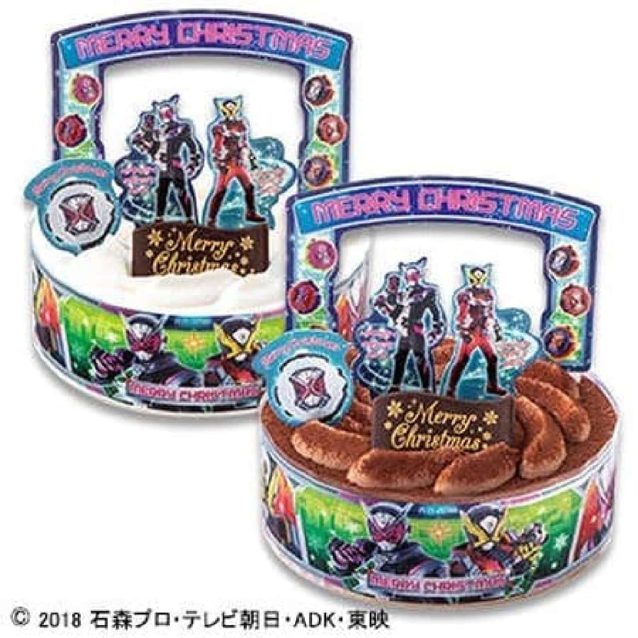 不二家「キャラデコクリスマス 仮面ライダージオウ チョコレートケーキ」