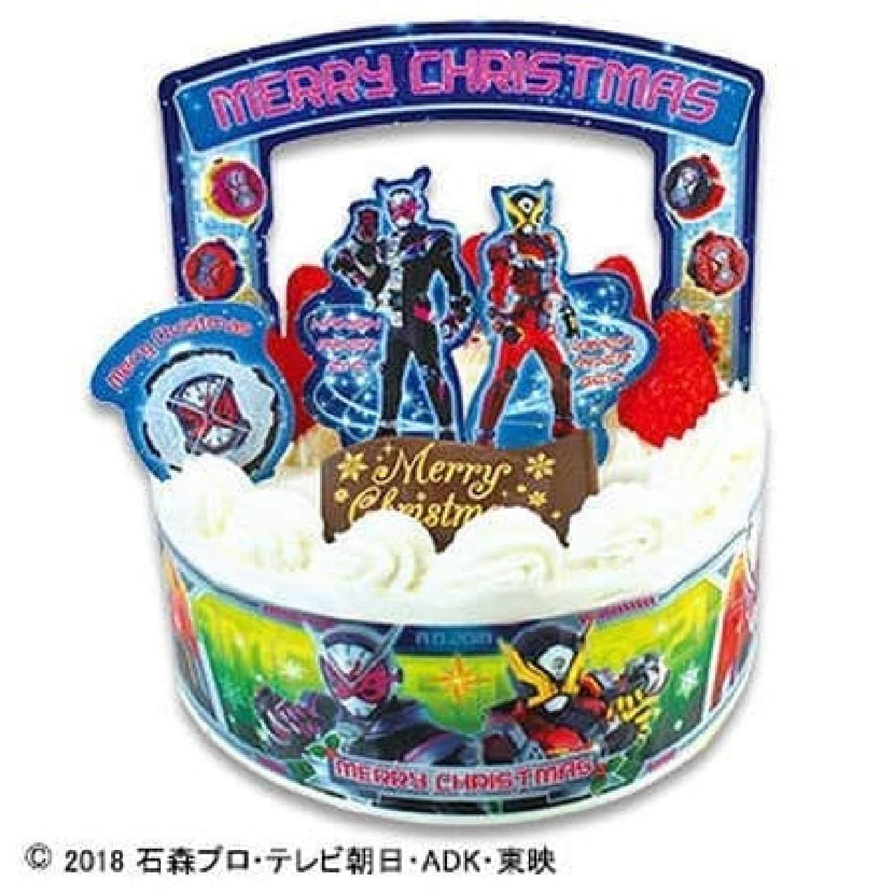 不二家「キャラデコクリスマス 仮面ライダージオウ ショートケーキ」