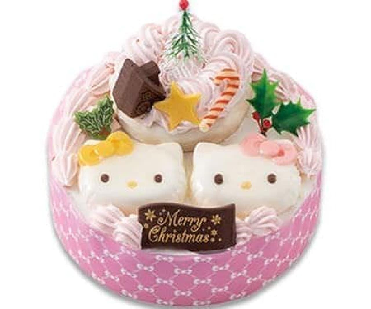 不二家「KITTY&MIMMY仲良しクリスマス」