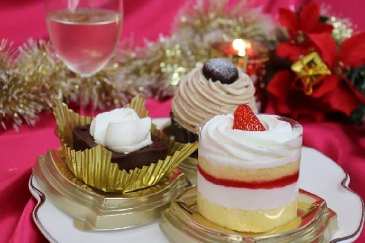 ファミマスイーツ「テリーヌ・ガトーショコラ」「苺のショートケーキ」
