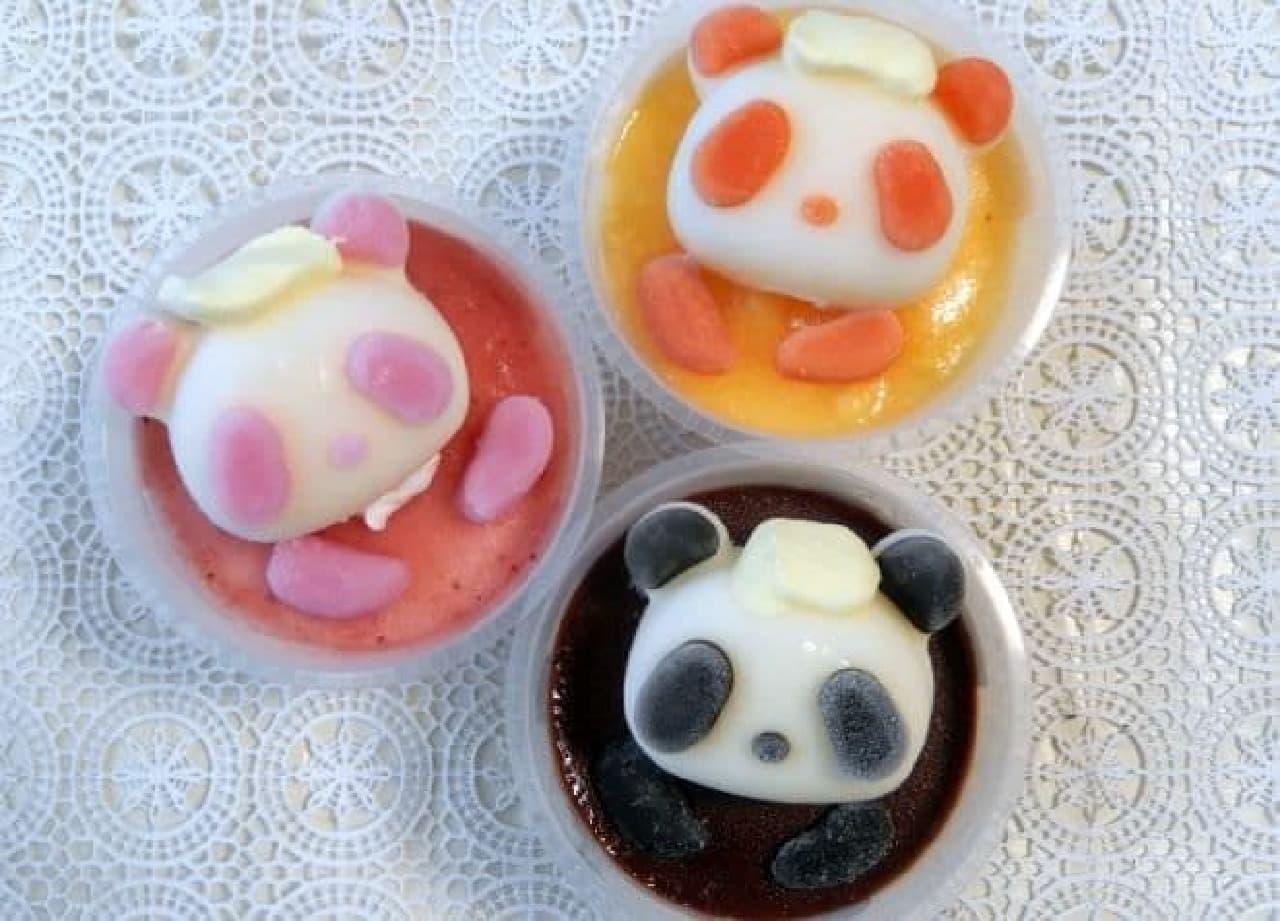 デザートプラン「風呂ーずんパンダパフェ」