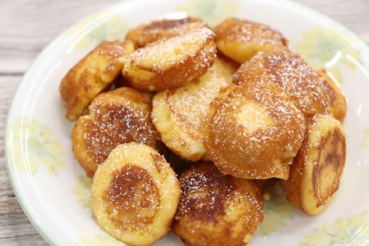 鈴カステラで作る鈴カステラフレンチトースト