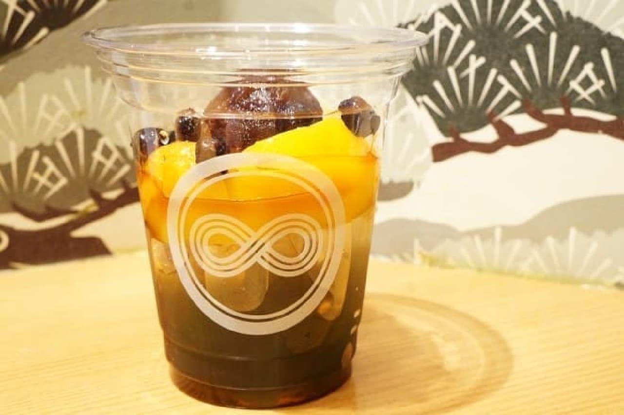 日本茶スタンドカフェ八屋「あんみつ」
