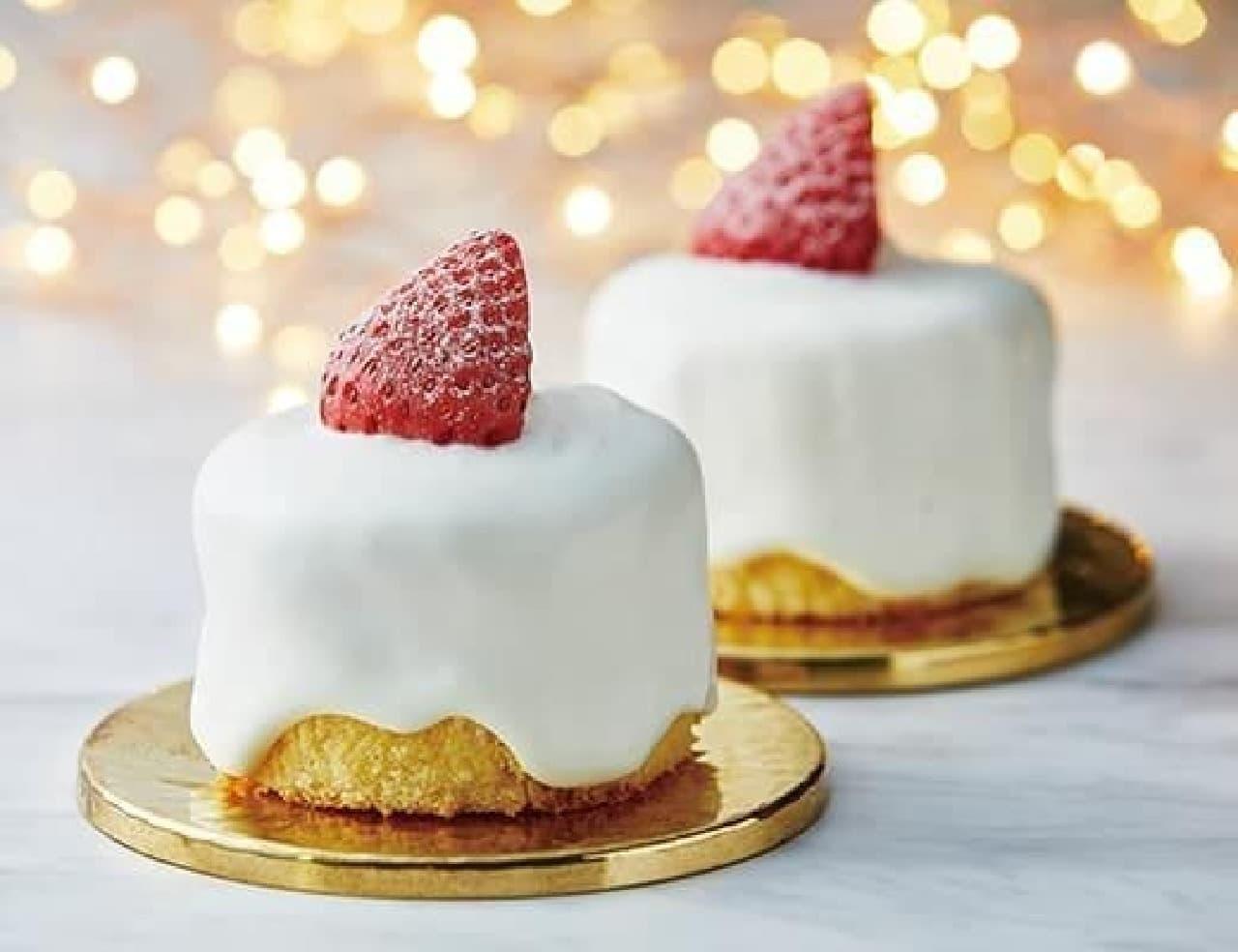 ローソン「苺のキャンドルケーキ」