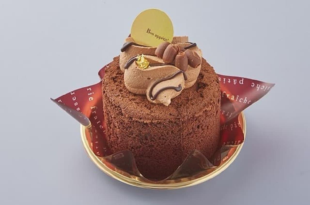 シャトレーゼ「成人の日 濃厚カカオケーキ」