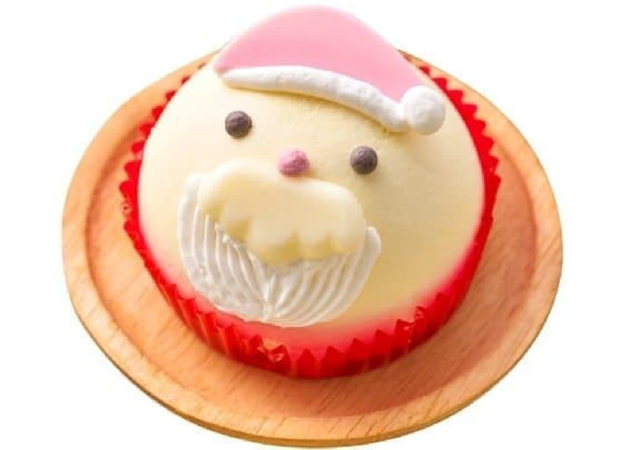 セブン-イレブン「サンタさんケーキ バニラ&いちごクリーム」