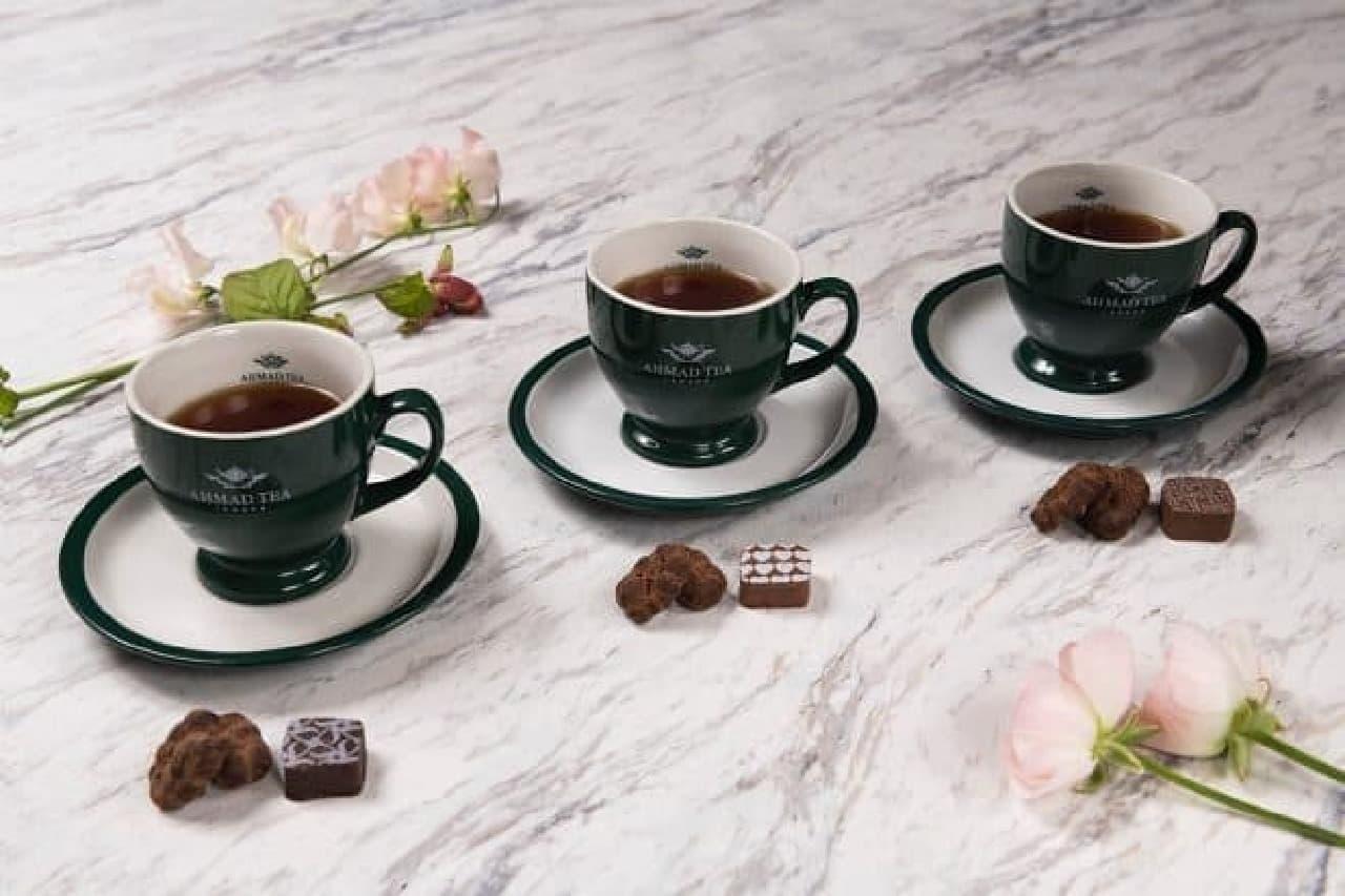 マックスブレナーチョコレートバー「TEA&CHOCOLATE SET」
