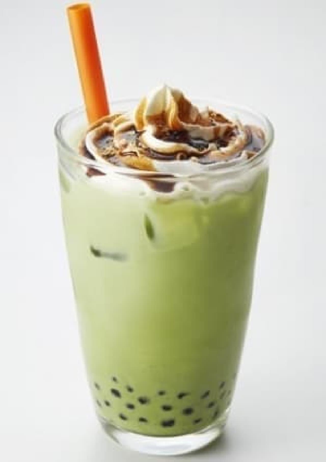 タリーズコーヒー「黒蜜きなこ抹茶ラテ」