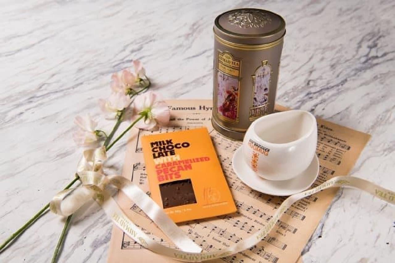 マックスブレナー「CHOCOLATE with TEAオルゴール」