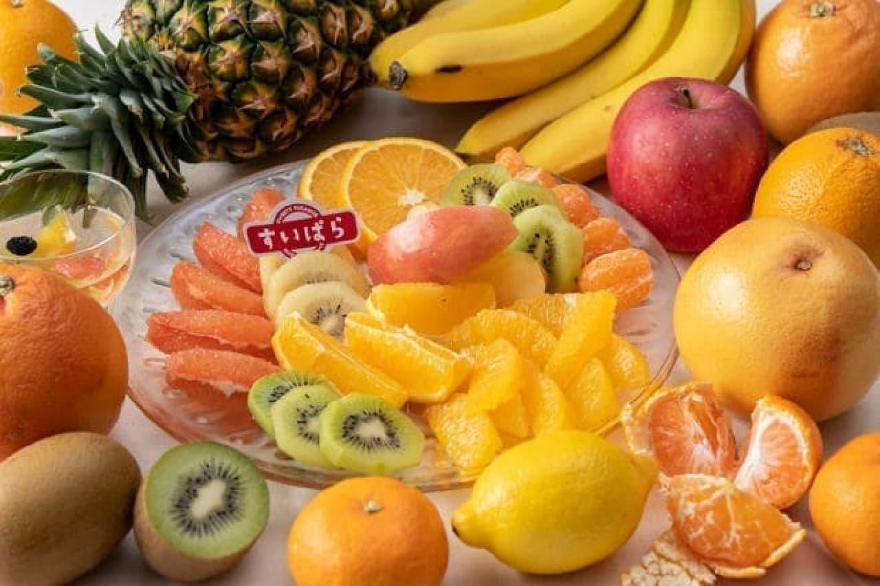 スイーツパラダイスの冬のフルーツ食べ放題