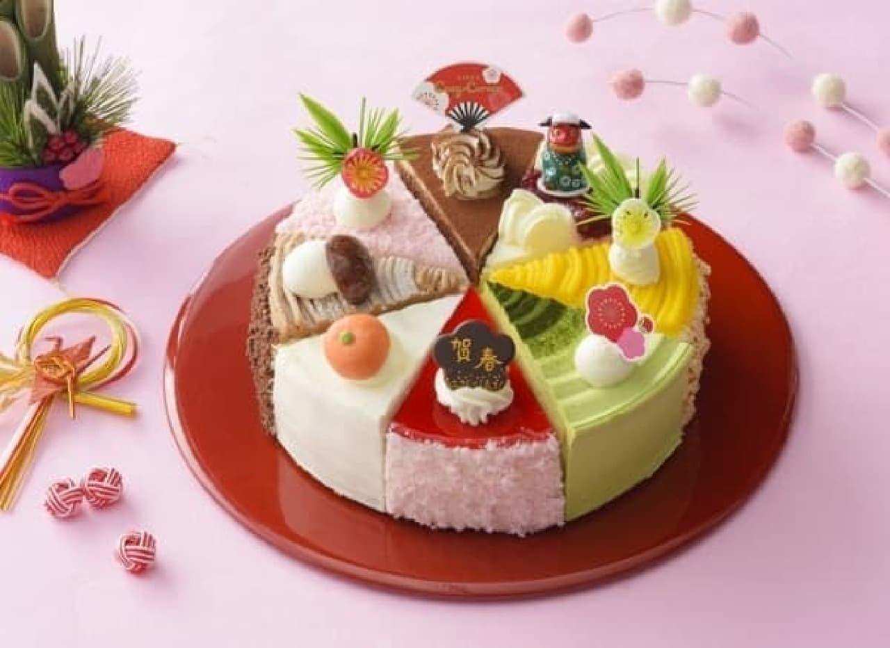 銀座コージーコーナー「迎春 8つのアソート」