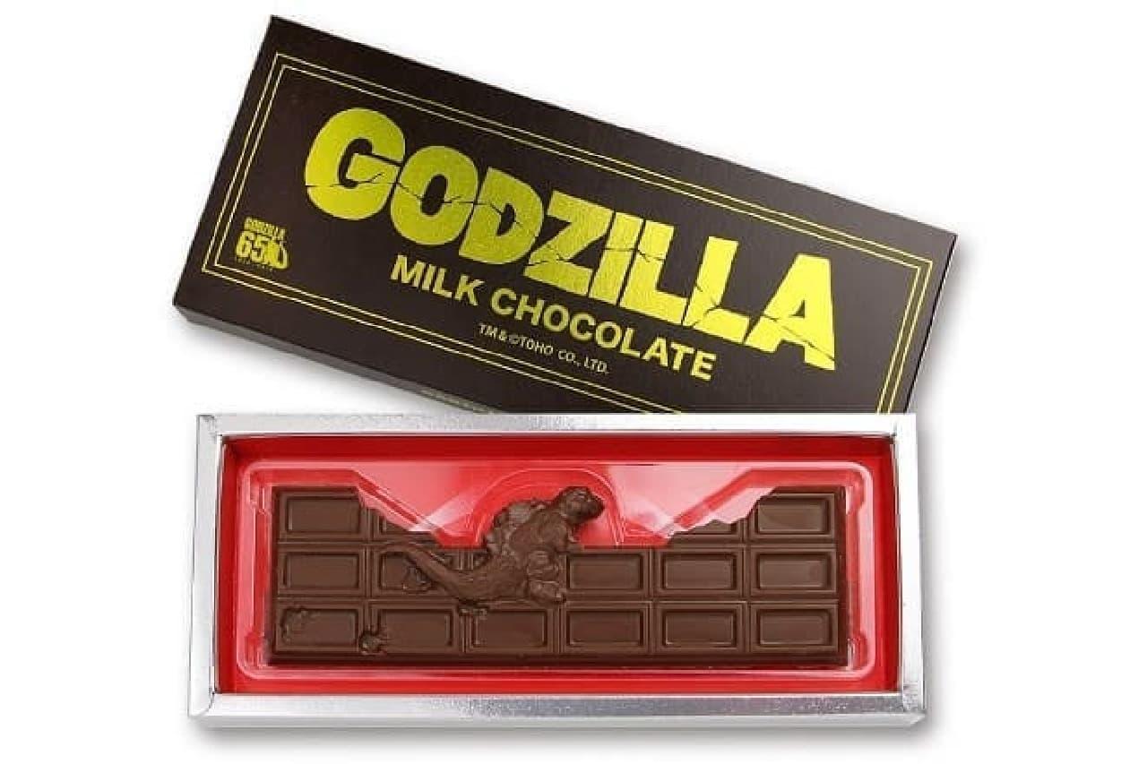 東宝の「ゴジラが壊した板チョコ」