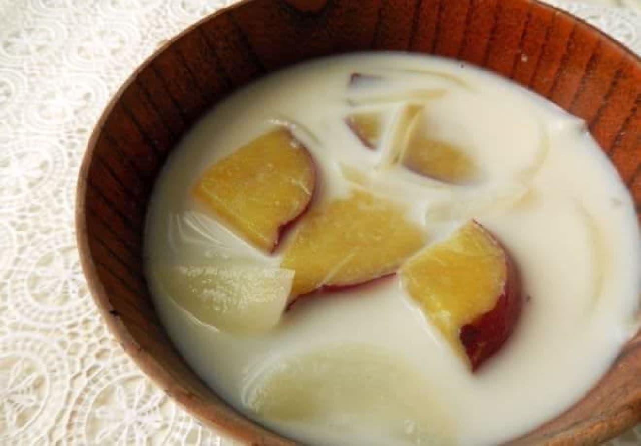 ミルクみそ汁のレシピ