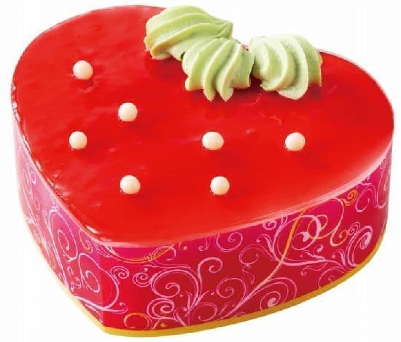 不二家洋菓子店の「苺フェア」